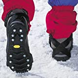 Glodeals(TM) 2x Anti-slip Ice Cleats Shoe Boot Tread Grips Traction Crampon Chain Spike Sharp Snow Walking Walker