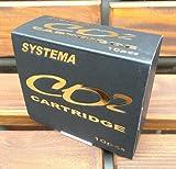 SYSTEMA Co2ボンベカートリッジ(NET 12g) 10本パック