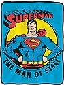 """Superman Man of Steel 45"""" x 60"""" Fleece Blanket"""