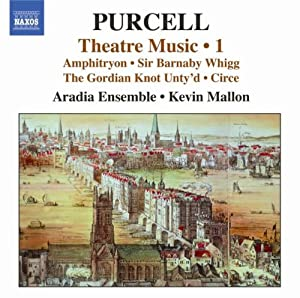 Purcell: Theatre Music Vol. 1