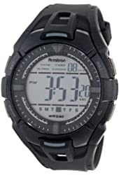 Armitron Sport Men's 40/8305BLK Black Resin Strap Digital Chronograph Watch