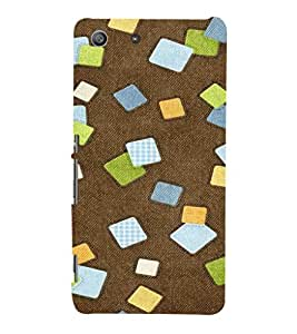 EPICCASE Falling cubes Mobile Back Case Cover For Sony Xperia M5 (Designer Case)