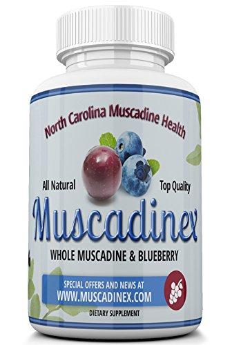 MX2 Brain Health Blend. Blueberry Pterostilbene Plus Muscadine Grape Resveratrol. 500mg x 60 Vegetarian Capsules. Made in US Quality (Blueberry Grape compare prices)