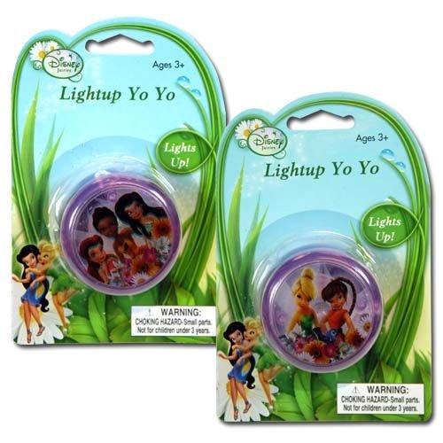 "WeGlow International Tinkerbell ""Fairies"" Light Up Yo-Yo (3 Yo-Yos) - 1"