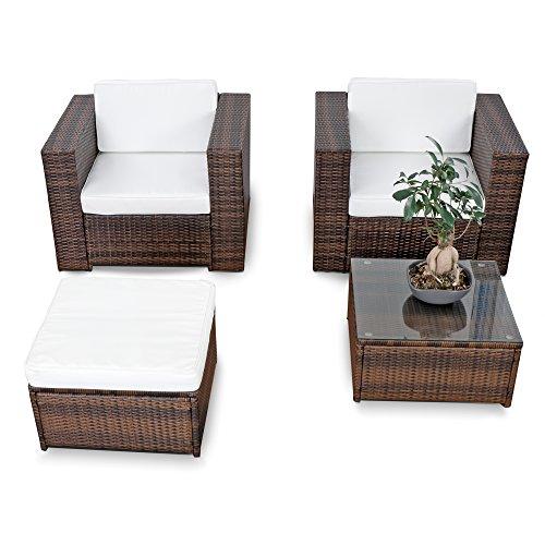 erweiterbares-10tlg-Balkon-Gartenmbel-Set-Polyrattan-braun-mix-Garnitur-Gartenmbel-Sitzgruppe-Loungembel-Set-inkl-Lounge-Sessel-Hocker-Tisch-Kissen