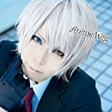 Henweit Inu x Boku SS Secret Service Miketsukami Soushi Short Grey Cosplay Hair Wig
