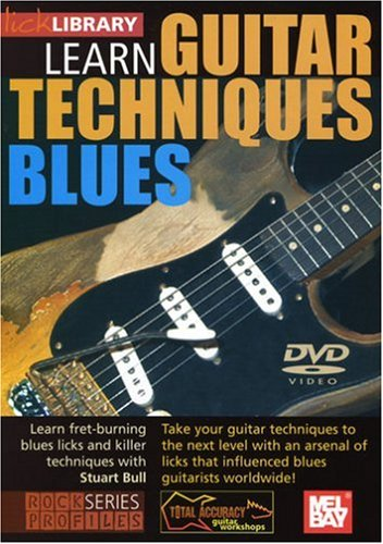 Learn Guitar Techniques - Blues [DVD]