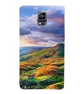 PrintVisa Colorful Scenic Design 3D Hard Polycarbonate Designer Back Case Cover for Samsung Galaxy Note 4