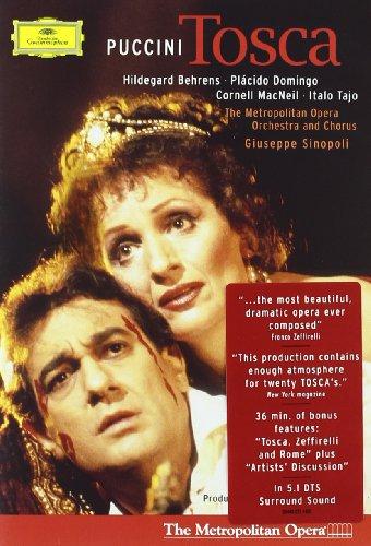 Tosca (Behrends, Domingo, Sinopoli) - Puccini - DVD
