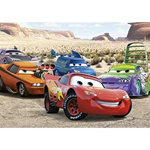 Disney Cars - The Cadillac Ranch (Street Cars) 50 piece puzzle (Jumbo 12015 C)