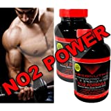 2 Bottles Absonutrix Extreme No2 - 3000mg of No2 Power - 240 Tablets! Xtreme Strength -Xtreme Endurance - Xtreme Recovery Time