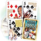 1984 Trivia Playing Cards: 31st Birthday Gift or 31st Anniversary Gift