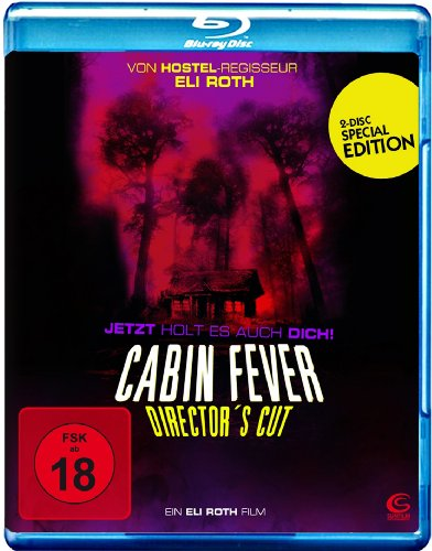 Cabin Fever - Director's Cut (Blu-ray, 2 Disc Special Edition)