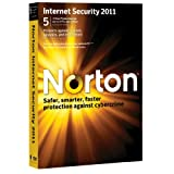 Norton Internet Security 2011, 5 Computers, 1 Year Subscription (PC)by Norton from Symantec