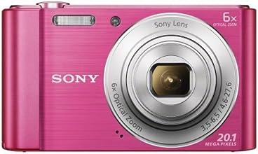 Sony DSCW810P.CE3 Appareil photo numérique compact 20,1 Mpix Zoom optique 6x Rose
