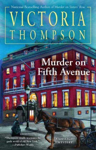 Image of Murder on Fifth Avenue (Gaslight Mystery)