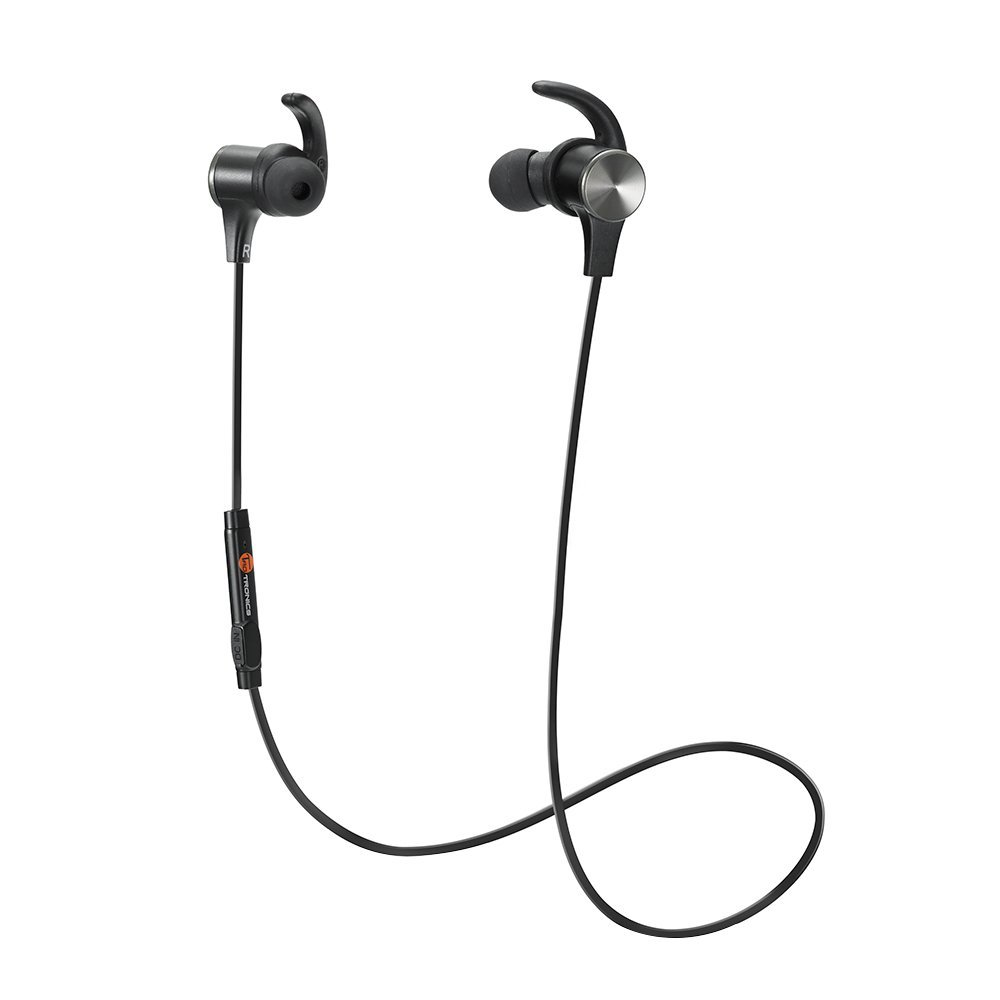 TaoTronics Bluetooth Headphones, Wireless 4.1 Magnetic Earbuds