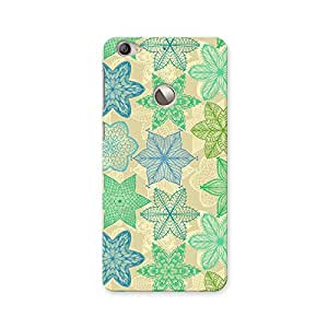 ArtzFolio Vintage Ornate Flowers : LeTV Le 1s Matte Polycarbonate ORIGINAL BRANDED Mobile Cell Phone Protective BACK CASE COVER Protector : BEST DESIGNER Hard Shockproof Scratch-Proof Accessories