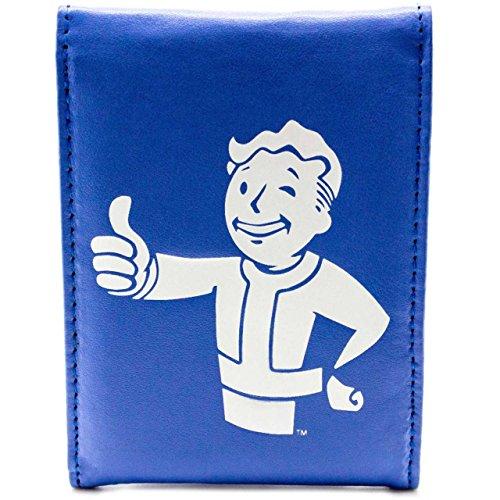 Bethesda Fallout 4 Thumbs Up Button Blu portafoglio