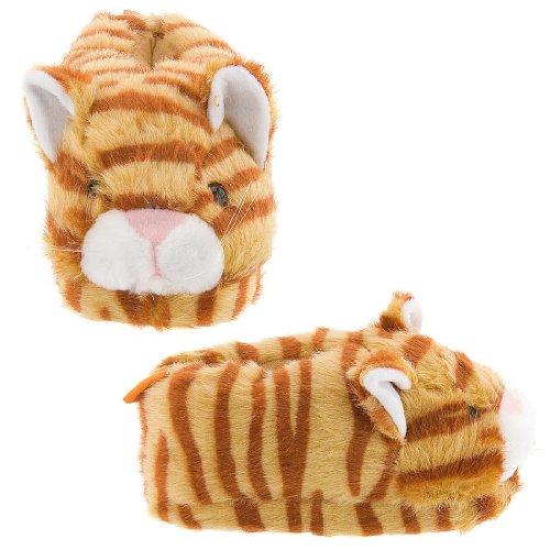 Cheap Orange Tabby Cat Animal Slippers for Women and Men (B00869EB7K)