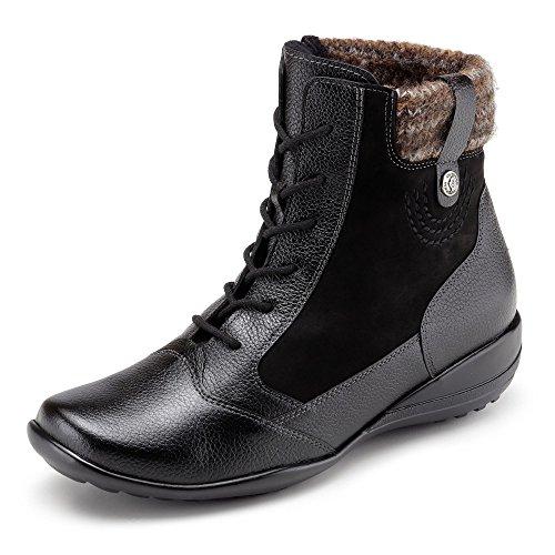 Waldläufer Schuh, Groesse 4 1/2, schwarz/braun