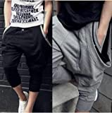 2013春夏 メンズ パンツ イージーパンツ 7分丈 リラックスパンツ サルエルパンツ th304-kz013