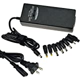 90w Universal Ac Adapter Battery Charger Power Supply for Most Laptops, 9 Tips