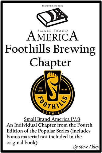 small-brand-america-iv8-foothills-brewing-chapter-english-edition