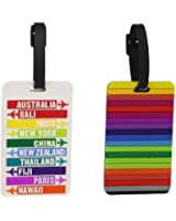 Travelon Set Of Two Luggage Tags