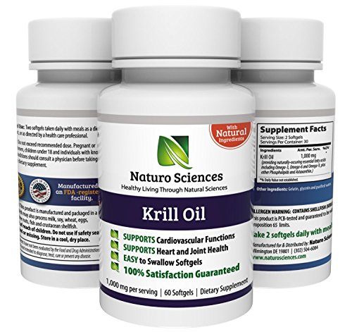 Krill oil 1000mg neptune krill oil contains high for Fish oil with astaxanthin
