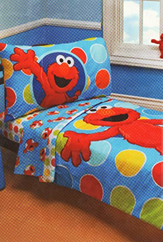 sesame street elmo 4 piece toddler bedding set 67 95