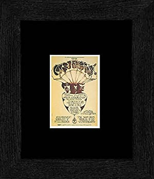 Cream James Cotton Band - Fillmore Auditorium & Winterland March 1968 Framed and Mounted Print - 20x18cm
