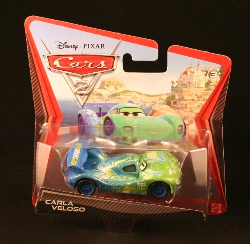 Disney / Pixar CARS 2 Movie 155 Die Cast Checkout Lane Package Carla Veloso