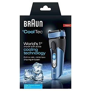 Braun °CoolTec CT4s Rasoir Electrique Utilisable sous la Douche avec Technologie Active Rafraîchissante