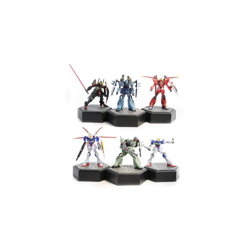 Gundam Seed Destiny Pencil Sharpeners (Set of 6) [Toy] Toys