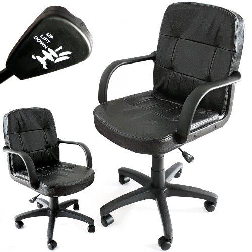 Opiniones de silla de oficina de cuero estructura muy - Silla estudio amazon ...