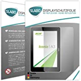 "2 x Slabo Film de protection d'écran Acer Iconia Tab A3-A10 protection écran film de protection film ""No Reflexion"" MAT - anti-reflets MADE IN GERMANY"