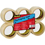 Scotch Packaging Tape - Clear - 6 Rolls - 50 mm x 66 m