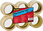 Scotch Packaging Tape - Clear - 6 Rol...