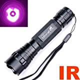 Ultrafire Wf-501b Cree Infrared Ir 3w LED Night Vision Flashlight Torch