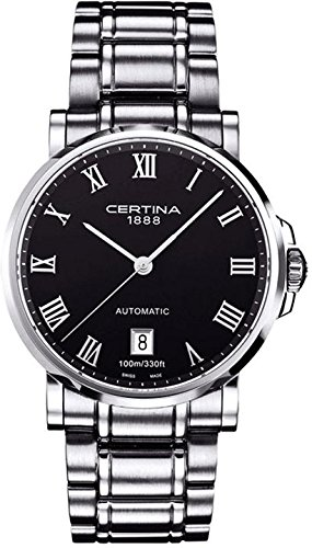 Certina Men's Watch XL Analogue Automatic Stainless Steel c017.407.11.053.00