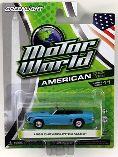 Greenlight Motor World Series 11 - 1969 Chevrolet Camaro - 1