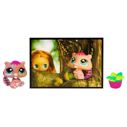 Littlest Pet Shop Series 6 Postcard Pets Beaver