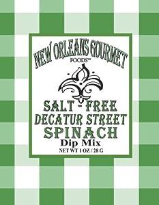 Decatur Street Spinach Dip Mix (Salt Free)
