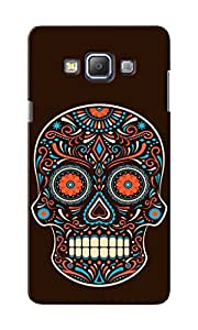 KnapCase Colorful Skull Designer 3D Printed Case Cover For Samsung Galaxy A7