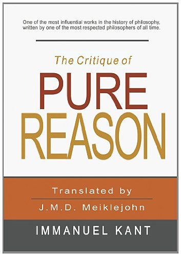 The Critique of Pure Reason ISBN-13 9781463794767