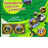 Excavadoras, Camiones Y Tractores (Con Gafas 3D)
