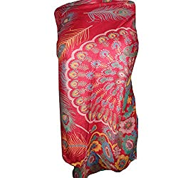 Women Multicolour Rayon Printed scarf By Dream Fashion