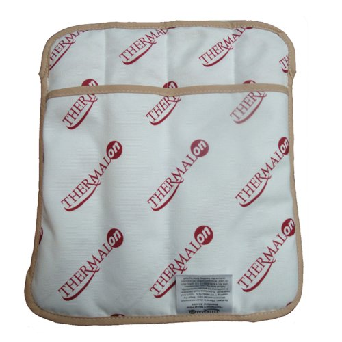 "Big Save! Thermalon Microwave Activated Moist Heat Pad for Shoulder, Abdomen, Back, Hip, 9"" x 1..."