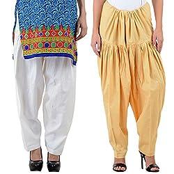 NumBrave Women's Lovely Cotton Patiala Salwar